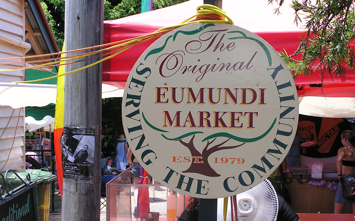 Eumundi Markets Sunshine Coast
