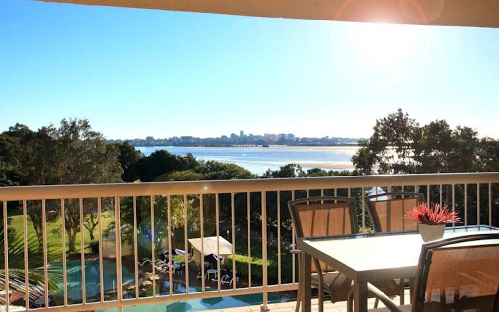 Family Water View Apartments at Golden Beach, Caloundra