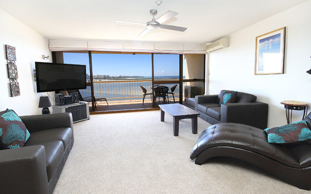Two Bedroom Ocean View holiday apartments Caloundra